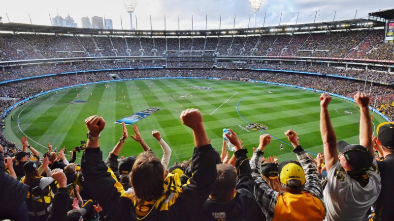 AFLグランドファイナルのスタジアム