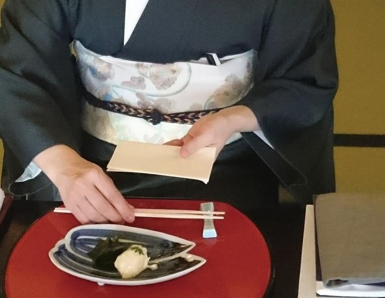 和食マナー_懐紙