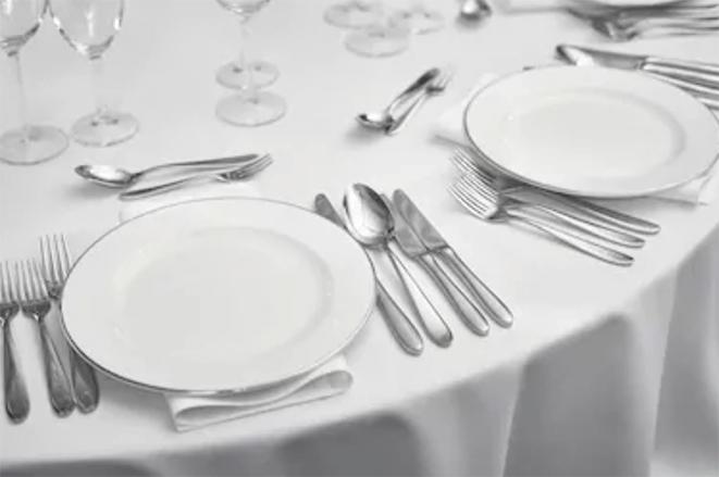 洋食テーブルマナー_テーブルセッティング